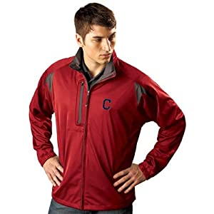 Cleveland Indians Highland Water Resistant Jacket by Antigua
