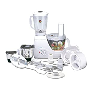 Bajaj FX 10 600-Watt Food Processor