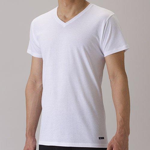 セーレン デオエスト 消臭アンダーシャツ V首 ホワイト M