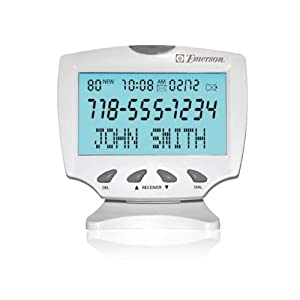 Amazon com emerson large display talking caller id health amp personal
