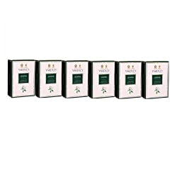 Yardley Jasmine Luxury Soap, 100g (Pack of 6)