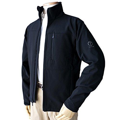 (トゥミ) TUMI T-Tech メンズ ジャケット裏フリース ブルゾン ジャンバー TT-0012 XL ブラック[並行輸入品]