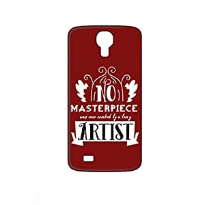 Vibhar printed case back cover for Karbonn Mach 5 LazyArtist