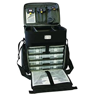 Buy Calcutta CT1010WC Shoulder Strap Tackle Bag with Four Removable 360 Tackle Trays, Medium by Calcutta