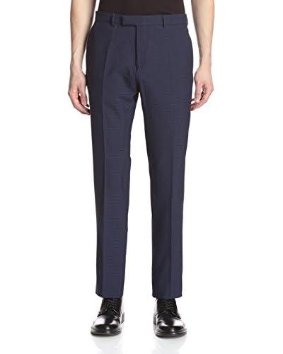 Hardy Amies Men's Cotton Seersucker Pants