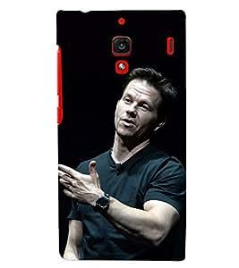 PRINTSHOPPII HOLLYWOOD HERO Back Case Cover for Xiaomi Redmi 1S::Xiaomi Redmi (1st Gen)