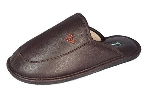 Dunlop-Zapatillas-de-estar-por-casa-de-Material-Sinttico-para-hombre