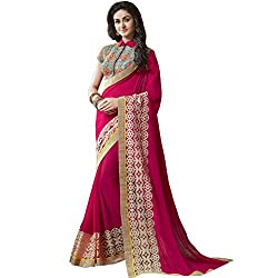 Shoponbit New Wedding Wear With Embroidered Blouse Designer saree