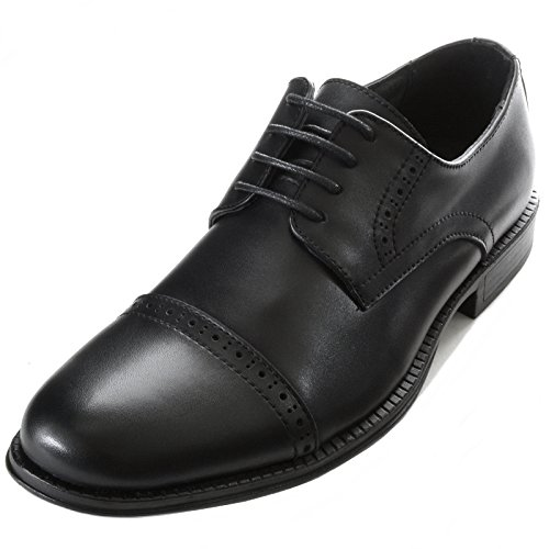 Mens Leather Oxford Dress Shoes