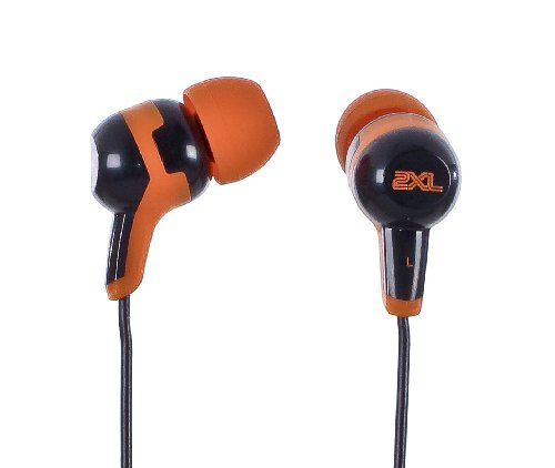 2XL 2X-002B Spoke Bounty Hunter In-Ear Headphones (Orange,Black,White Camo)