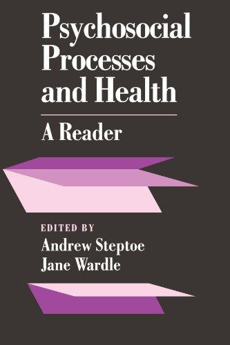Psychosocial Processes And Health: A Reader