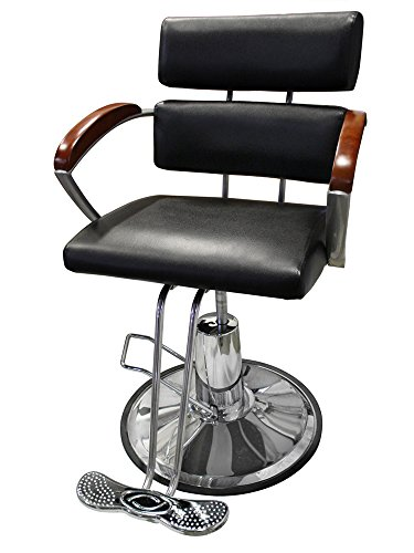 Recline Hydraulic Adjustable Barber Chair Styling Salon Beauty Spa Equipment front-541360