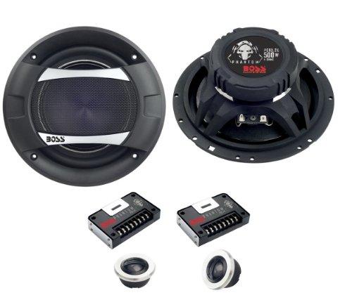 "New Boss Audio Pc65.2C 6.5"" 500W 2 Way Car Component Speakers Set Audio Pc652C"