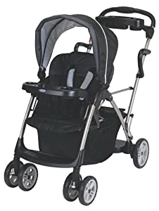 Graco RoomFor2 Stand and Ride Classic Connect Stroller, Metropolis by Graco