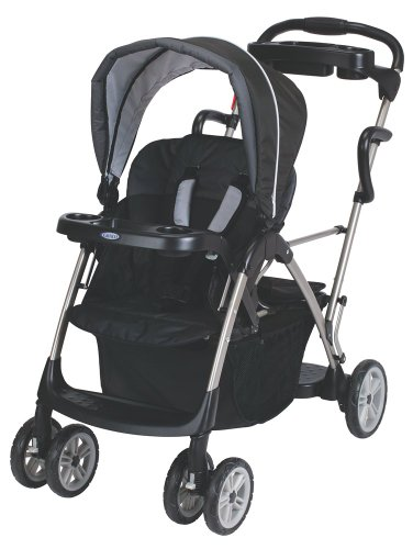 Graco RoomFor2 Stand and Ride Classic Connect Stroller, Metropolis (Discontinued by Manufacturer) - 1