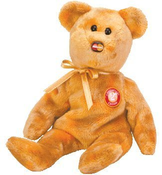 "TY Beanie Baby - MC MASTERCARD Bear ""Anniversary Edition #2"" (Credit Card Exclusive) - 1"