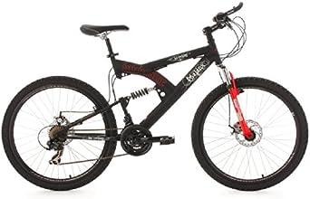 "KS Cycling Phalanx Vélo VTT semi rigide 26"" Noir 51 cm"