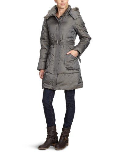 Gas  Women's Pl5000 421180 Holfrid Long A 2909 Coat (Long) Grey (Fossil Gray 2909) 44