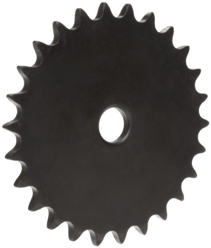Martin Roller Chain Sprocket, Reboreable, Type A Hub, Single Strand, 41 Chain Size, 0.5
