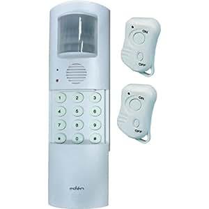 Eden MA89 Alarme autonome avec transmetteur téléphone et 2 télécommandes