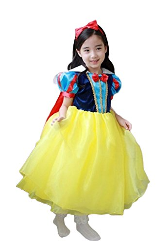 Snow White Inspired Special Occasion Baby Girl Dress