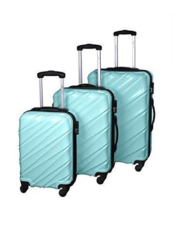 3-er-Koffer-Set-mit-Hartschale-25-39-und-65-Liter-Leichtlaufrollen-und-Teleskopgriff-Freie-Farbauswahl