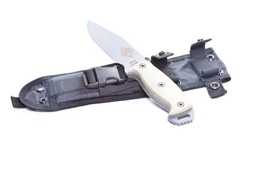Ontario Knife Rbs-4 Knife, Grey/Black