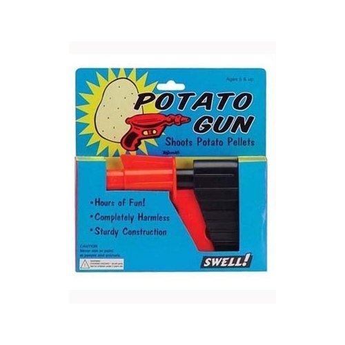 Retro Potato Plastic Toy Gun (Spud Gun compare prices)