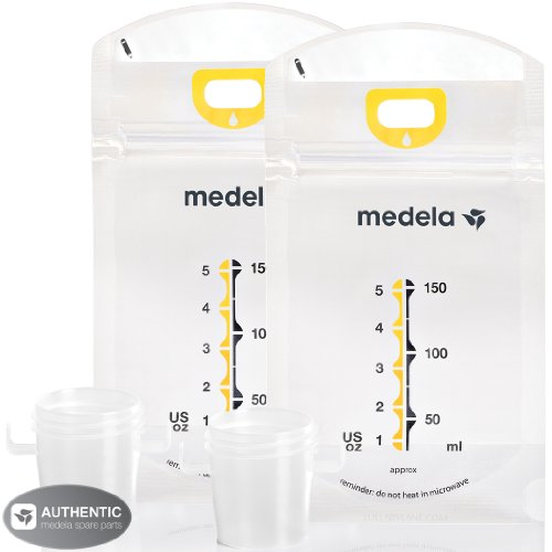Medela Pump & Save Breastmilk Bags - 50 Pack (Set of 2)