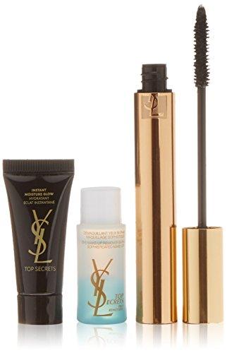 Yves Saint Laurent 915-54617 Mascara Efetto Ciglie finte + Struccante di Occhi Bifasico + Illuminante idratante - 1 Pack