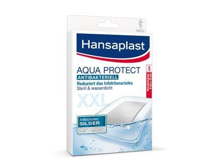 HANSAPLAST med Aqua Protect Pflaster XXL 8x10 cm 5 St