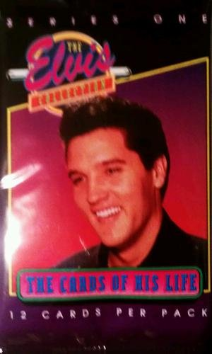 "1992 Elvis Presley ""The Elvis Collection"" Series 1 Trading Cards Pack (12cards/pack) - 1"