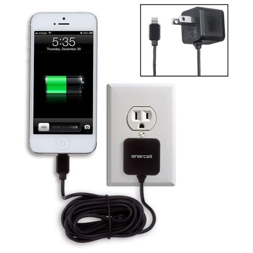 IPHONE 5, 5s, 5c, IPOD LIGHTING CONNECTOR WALL CHARGER
