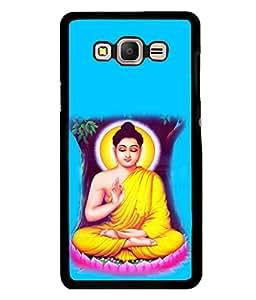 printtech Lord Buddha Back Case Cover for Samsung Galaxy E5::Samsung Galaxy E5 E500F