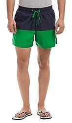 Prym Men's Polyester Shorts (8907423002661_2011517402_34_Green)