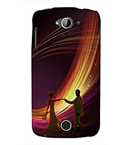 Fuson Premium Join To Dance Printed Hard Plastic Back Case Cover for Acer Liquid Z530S
