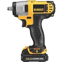 DEWALT DCF813S2 12-Volt Max 3/8-Inch Impact Wrench Kit by DEWALT