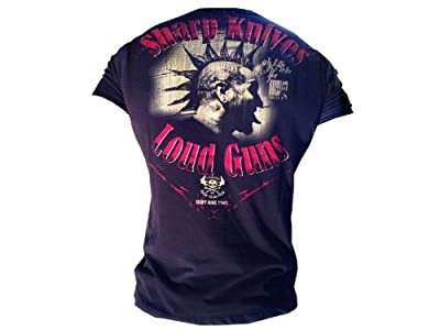 "Yakuza Ink T-Shirt ""Sharp Knives"" - TSB 409 schwarz BRANDNEU S-3XL"