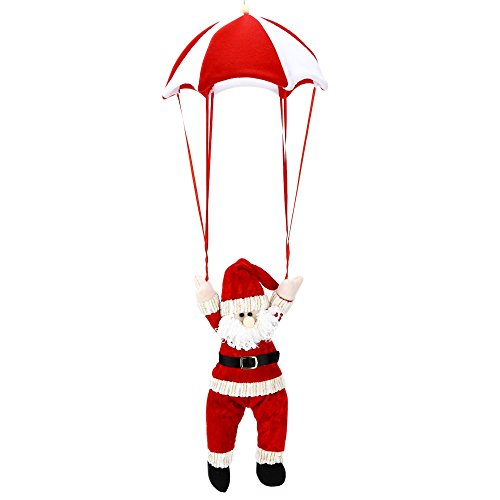 yooyoo-christmas-santa-claus-snowman-parachute-toy-hanging-decoration-red-with-white