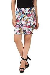 NOD Multi-colour Printed skirt for women