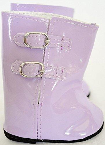 lavendar-rain-boots-fits-american-girl-dolls-and-bitty-twins-18-inch-doll-clothes-by-dollshobbiesnmo