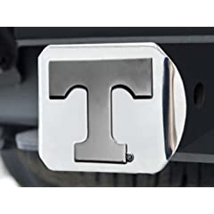 Buy FANMATS NCAA University of Tennessee Volunteers Chrome Hitch Cover by Fanmats
