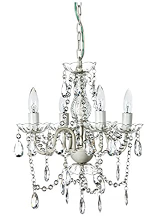 arm crystal white small acrylic crystal chandelier new chic lighting