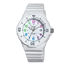 Casio Women's LRW200H-7BVCF Dive Series Diver Look Analog Watch