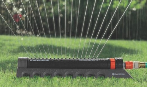 Gardena 34000 Comfort 3900-Square Foot Aqua Zoom Oscillating Sprinkler
