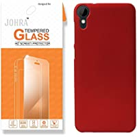 Johra Tempered Glass For HTC 825 Clear Glass By Johra- 9H Hardness Screen Guard / HTC 825 Tempered Glass Combo...