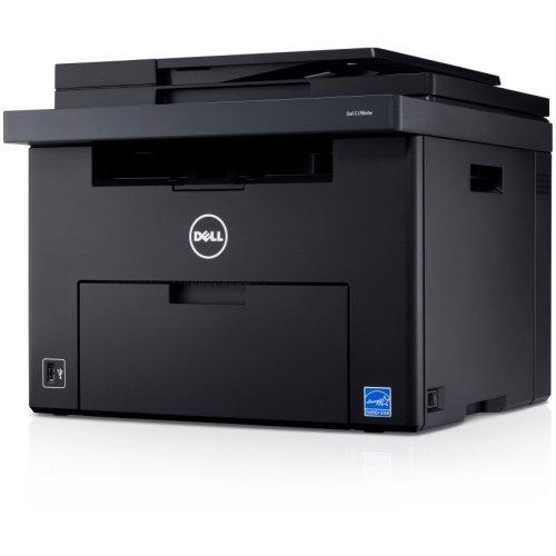 Dell, Inc - Dell C1765Nfw Led Multifunction Printer - Color - Plain Paper Print - Desktop - Copier/Fax/Printer/Scanner - 15 Ppm Mono/12 Ppm Color Print - 600 X 600 Dpi Print - 15 Cpm Mono/12 Cpm Color Copy Lcd - 1200 Dpi Optical Scan - Manual Duplex Print