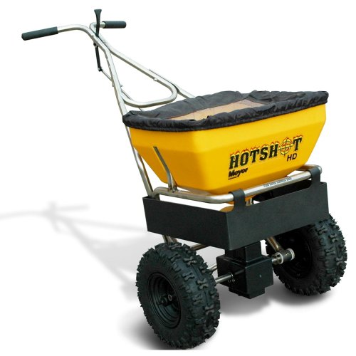 Purchase Meyer Hot Shot Professional Walk Behind Spreader - 70-Lb. Capacity, 1.3 Cu. Ft. Hopper, Mod...