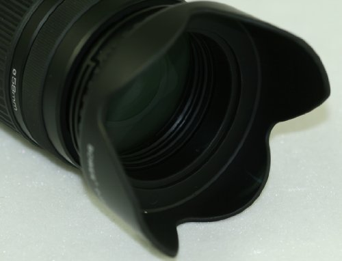 Professional 58mm Digital Tulip Flower Lens Hood