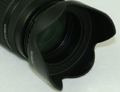 Professional 58mm Digital Tulip Flower Lens Hood